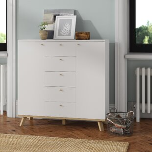 Skyler 5 Drawer Combi Chest By Isabelline