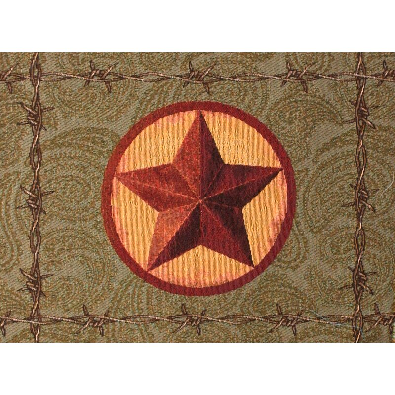 Manual Woodworkers Weavers Western Star Backed 18 Cotton Placemat Wayfair