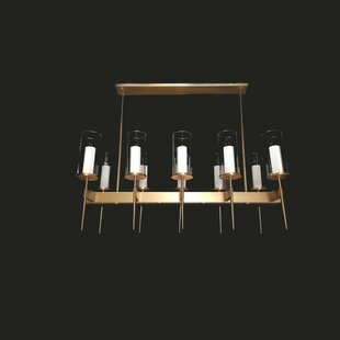 Corrigan Studio Crutchfield 13-Light Kitchen Island Pendant
