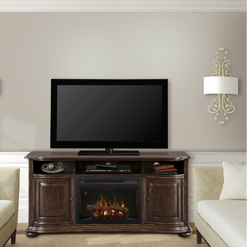 Dimplex Henderson Tv Stand For Tvs Up To 65 With Fireplace