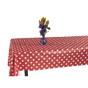 Essential Polka Dot Design Indoor Outdoor Tablecloth