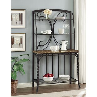 Vaughan Wrought Iron Baker's Rack by Fleur De Lis Living