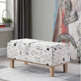 Ophelia & Co. Sahaj Upholstered Storage B..