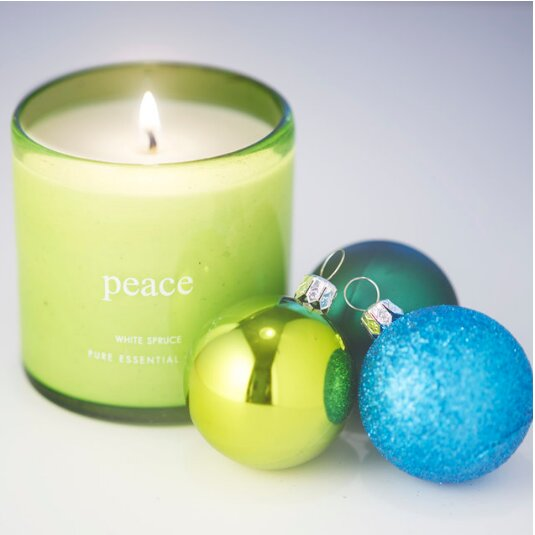 The Pure Candle Holiday Peace Scented Candle