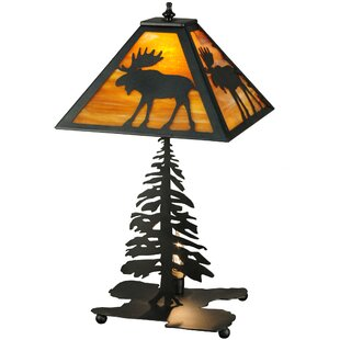 Lone Moose 21.25 Table Lamp