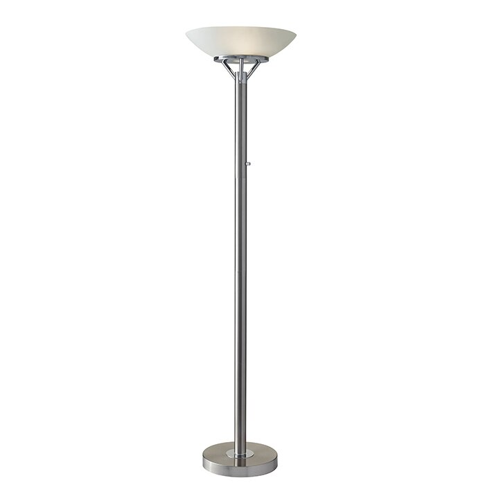 Adesso expo 715 torchiere floor lamp reviews wayfair expo 715 torchiere floor lamp aloadofball Gallery