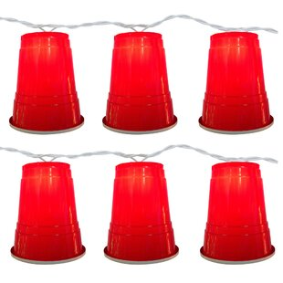 The Holiday Aisle Party Cup 10 Light Novelty String Light