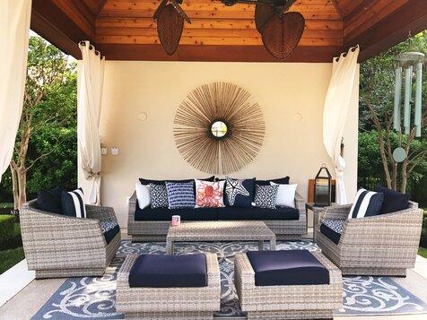 Sunroom , Pink Design Ideas | Wayfair