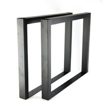 2pcs Metal Steel Table Legs Desk Dining Table Bench Base Frame DIY Furniture