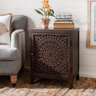 Townsend Carved Nightstand by Bloomsbury Market