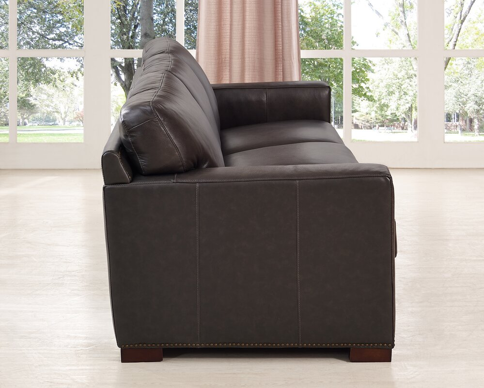 Decoro Leather Sofa With Hardwood Frame Sofa Hpricot