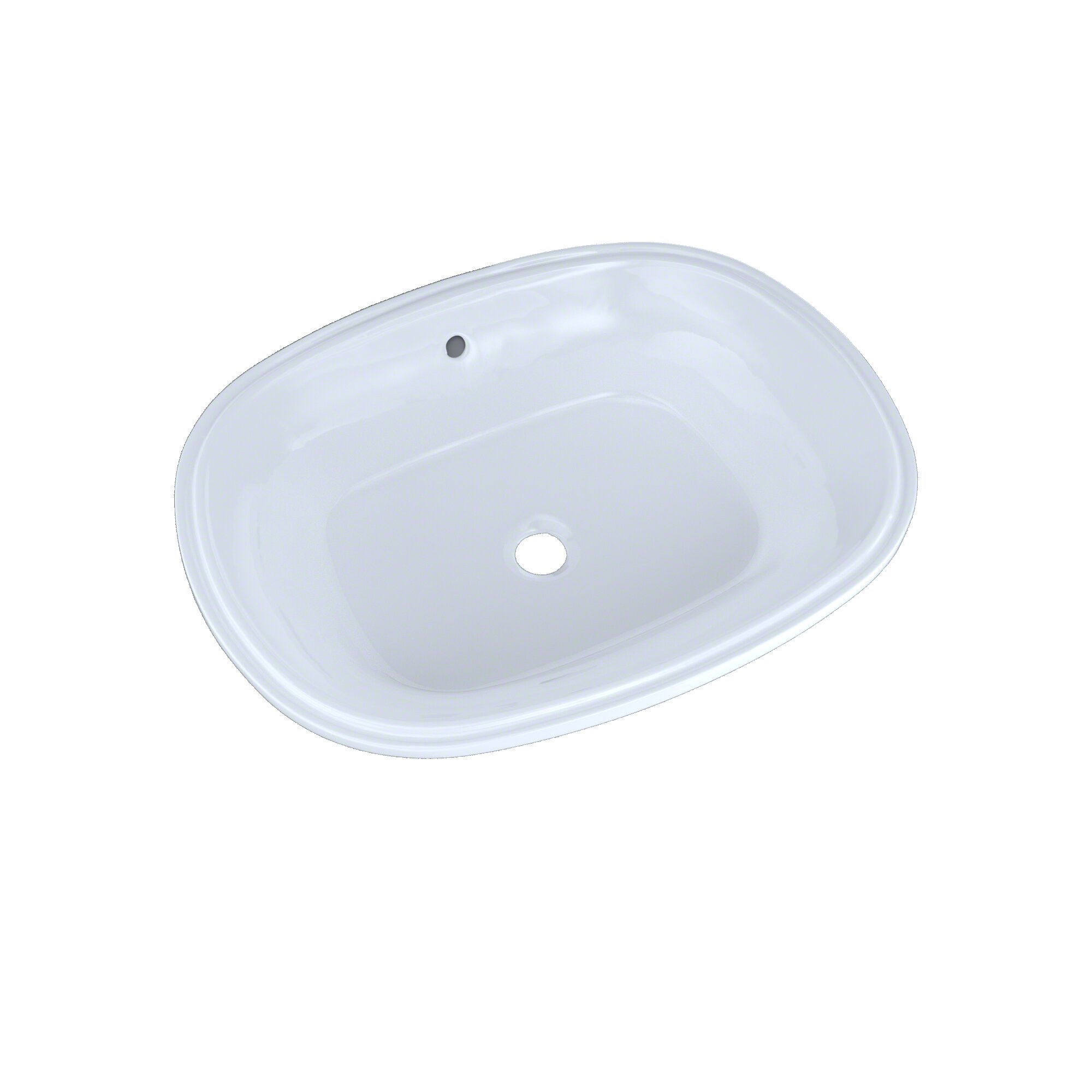 Toto Maris Vitreous China Oval Undermount Bathroom Sink With Overflow Wayfair