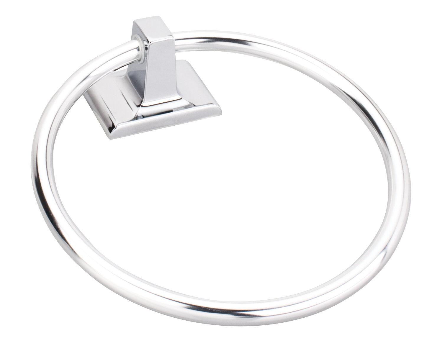 Elements By Hardware Resources Bridgeport Towel Ring Wayfair