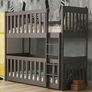 Knight Single 3' Bunk Bed By Harriet Bee