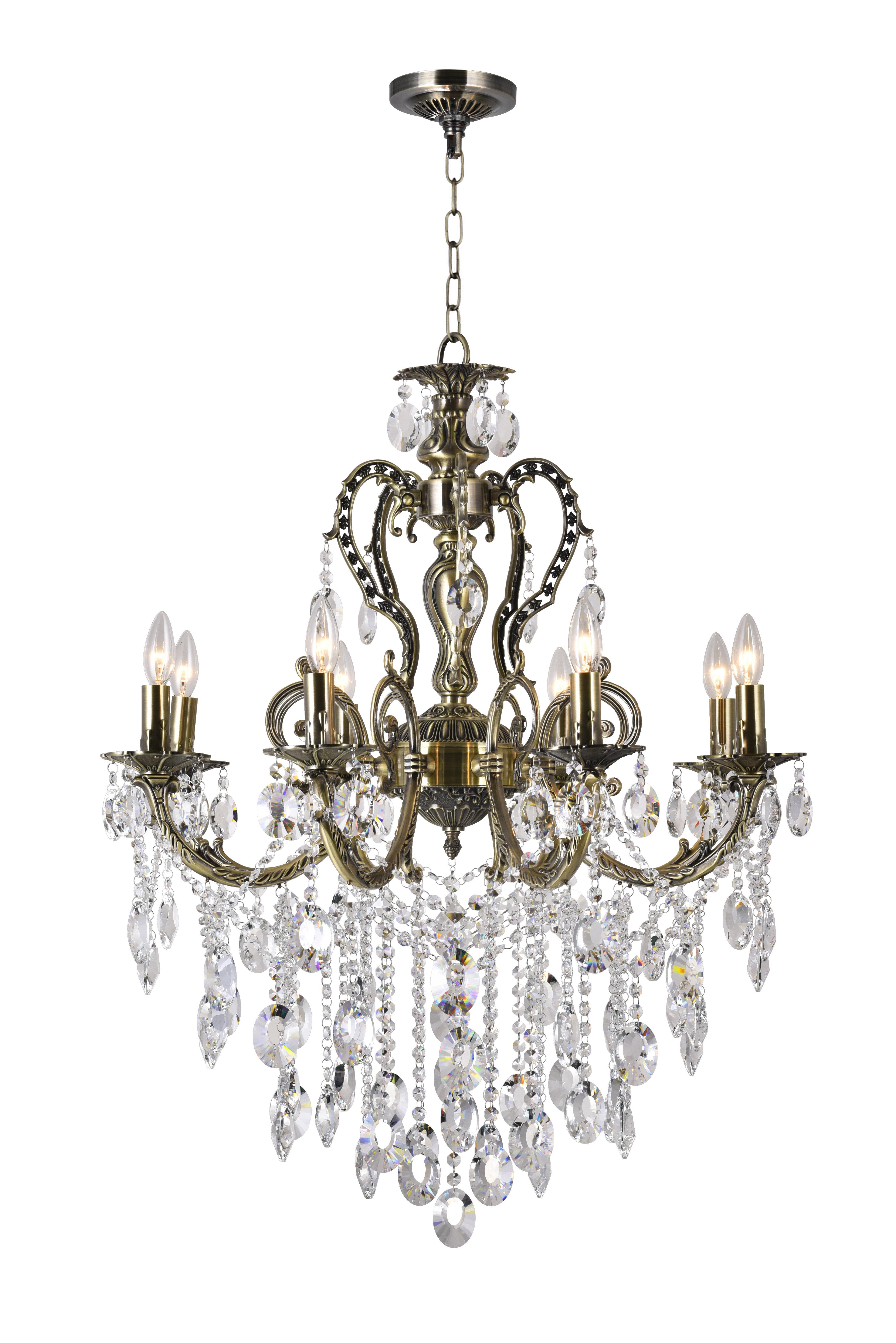 Astoria Grand Wilcox 8 Light Shaded Classic Traditional Chandelier Reviews Wayfair