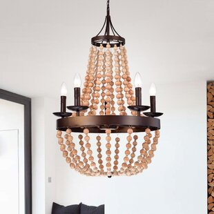 Crestview 5-Light Empire Chandelier by World Menagerie