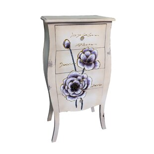 Shopping for Paradise Wooden 4 Drawer Accent Chest ByOphelia & Co.