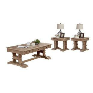 Mullin 3 Piece Coffee Table Set by Canora Grey