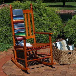 Giordano Rocking Chair by Breakwater Bay