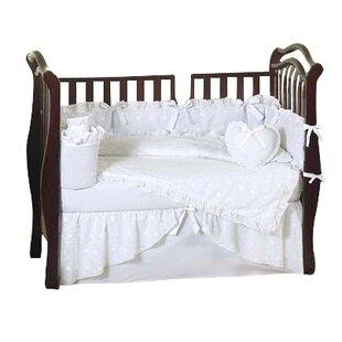 Eyelet 9 Piece Crib Bedding Set