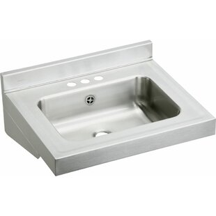 Price comparison Metal 22 Wall Mount Bathroom Sink By Elkay