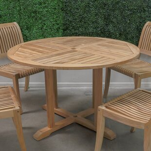 Solid Wood Dining Table by HiTeak Furniture