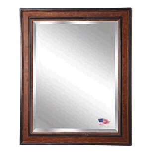 Loon Peak Country Pine Wood Wall Mirror