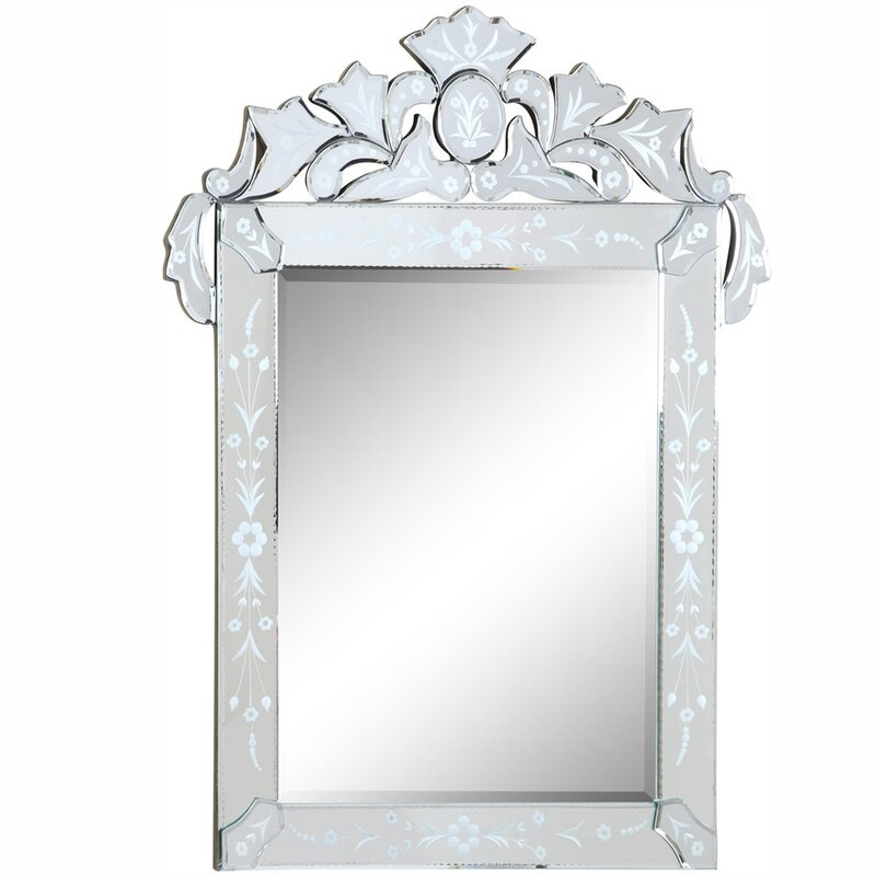 Willa Arlo Interiors Glam Vertical Accent Wall Mirror Reviews