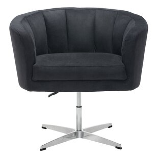 Charlie Swivel Barrel Chair by Ivy Bronx Today Only Sale