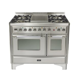 Majestic 40 Free-standing Gas Range with Griddle by ILVE