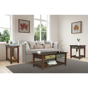 Bloomsbury Market Roemer 3 Piece Coffee Table Set