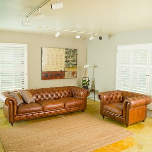 Home Loft Concepts Truxton 2 Piece Living Room Set