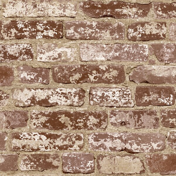 Best Brick Wallpaper Ideas, Rustic Brick Wallpaper, Brick Distressed Wallpaper