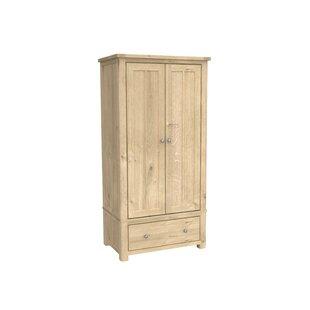 Aldridge 2 Door Wardrobe By August Grove