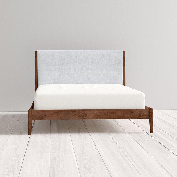 mid century modern bed frame