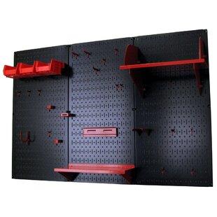 Compare Pegboard Standard Tool Storage Kit Wall Control