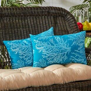 Indoor/Outdoor Lumbar Pillow (Set of 2)