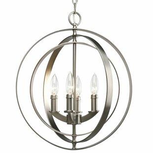 Meleri 4-Lighted Globe Cha..