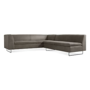 Bonnie & Clyde Leather Sectional Sofa by Blu Dot