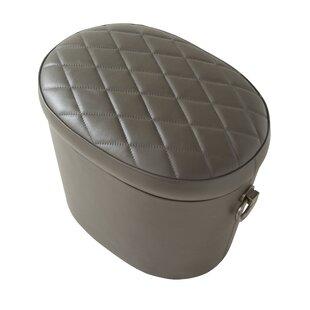 Lasky Leather Storage Ottoman by Red Barrel Studio