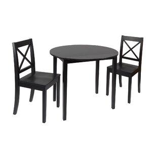Tiago 3 Piece Drop Leaf Dining Set