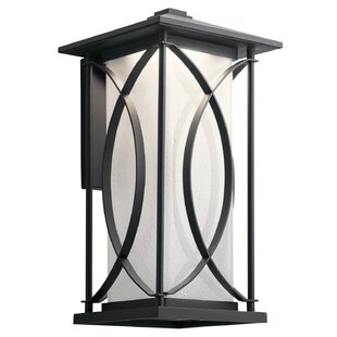 Great Price Vansickle LED Outdoor Wall Lantern By Red Barrel Studio