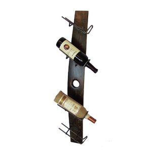 Orion 4 Bottle Wall Mounted Wine Bottle R..