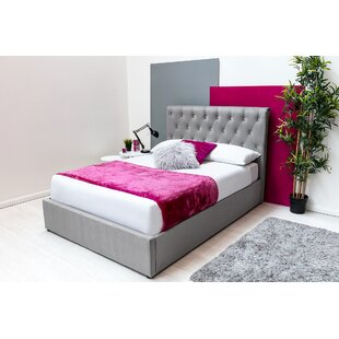 Keele Double (4'6) Upholstered Ottoman Bed By Ebern Designs