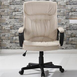 Ebern Designs Drago Office Microfiber High Back Padded Executive Chair