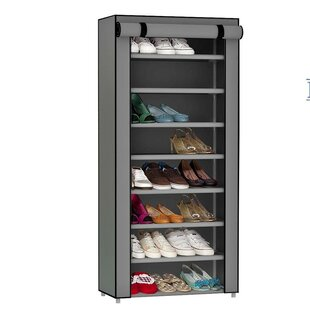 Inexpensive 24-Pair Shoe Storage Cabinet By Latitude Run