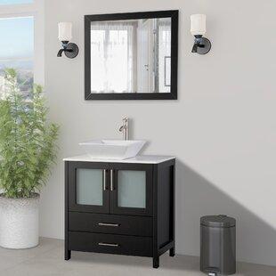 30 Inch Mirror Included Bathroom Vanities You Ll Love In 2021 Wayfair