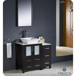 Check Prices Torino 36 Single Bathroom Vanity Set with Mirror ByFresca