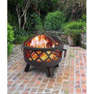 Garden Lights Sarasota Wood Burning Fire Pit By Landmann