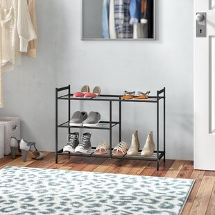 3 Tier Shoe Rack By Rebrilliant